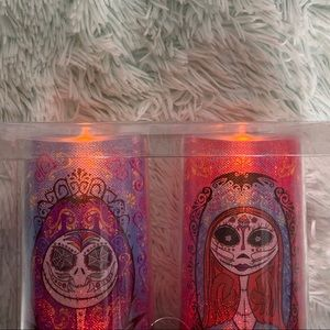Set of the nightmare before Christmas led candles